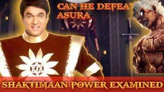 Shaktimaan Power Explained | Can Shaktimaan Defeat Asura and Superman