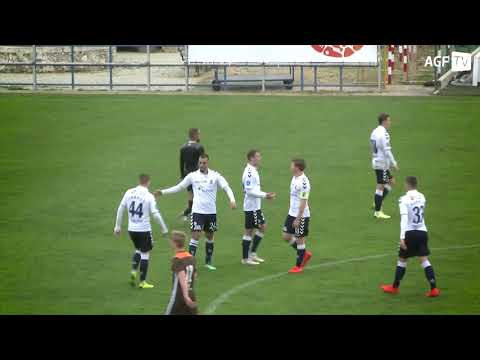 Højdepunkter - AGF vs. Brentford FC B - 31.1 2019