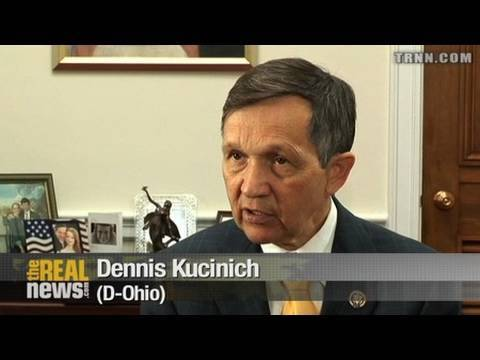 Kucinich won't vote for finance bill
