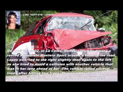 Fatal Celebrity Car Accidents Photos