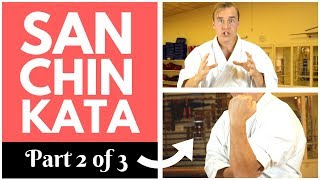 SANCHIN KATA SECRETS 2 3 Hips Elbow Scapula Jesse