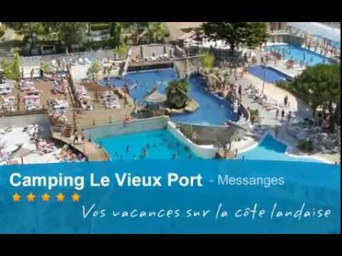 Camping Le Vieux Port Un Camping étoiles à Messanges YouTube - Camping vieux port messanges