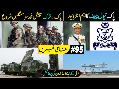 Pak-Turk Military Exercise | Pak Naval Chief Interview | Aman Exercise 2021 | Defence Updates