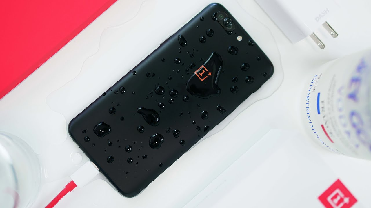 outlet store 7686e d0b84 THE SECRET ONEPLUS 5 WATERPROOF FEATURE!