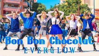 [KPOP IN PUBLIC]   EVERGLOW (에버글로우) - Bon Bon Chocolat (봉봉쇼콜라) Dance Cover [Misang] (One Shot ver.)