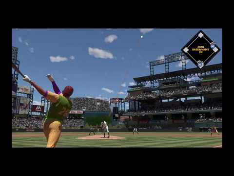 MLB® The Show™ 17 Dale Murphy Crushes 498 Foot Mammoth HR! Arenado & Springer!