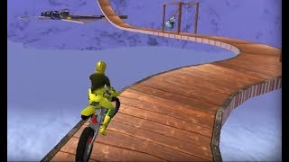 Moto Rider - Impossible Track Level 1-6 Game