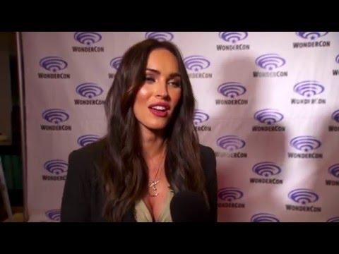 Teenage Mutant Ninja Turtles 2 WonderCon Interview - Megan Fox
