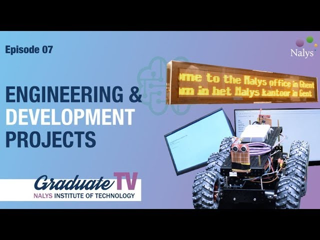 Engineering and development projects | Graduate TV 7 | Nalys Consulting