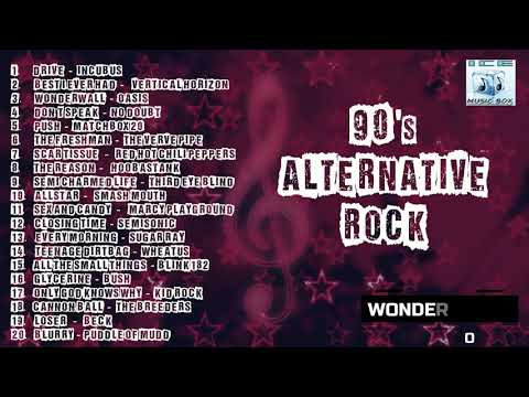 90s Alternative Rock - Incubus Oasis Matchbox 20 RHCP Vertical Horizon Bush No Doubt