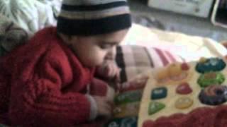 Bhavya learning ABC