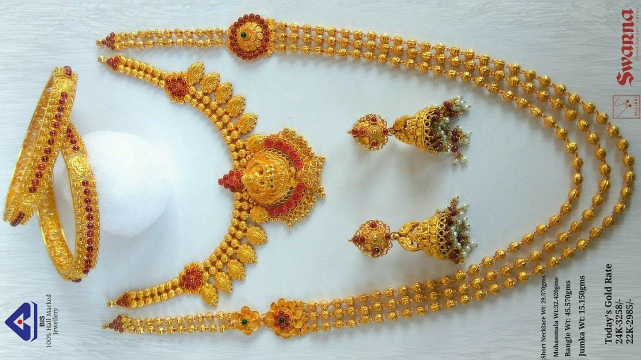 Top 20 Beautiful Latest Long Haram Gundla Mala Designs By Designer Blouses Sarees Dresses
