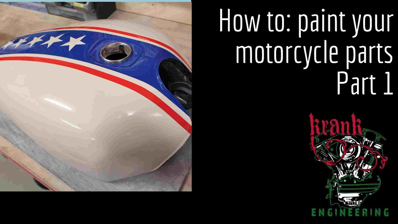 Custom Painting a Motorcycle Tank (with Aerosol Cans?!): 10