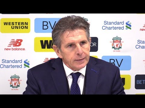 Liverpool 2-1 Leicester - Claude Puel Post Match Press Conference - Premier League #LIVLEI