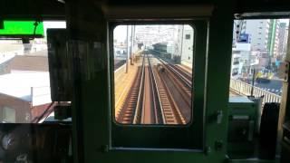懐かしの東武6050系 快速前面展望 浅草~春日部手前