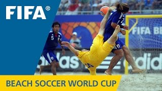 Ukraine - Japan, Beach Soccer World Cup