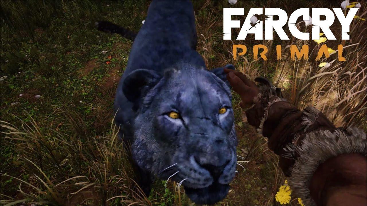 TAMING RARE BLACK LION! - Far Cry Primal Gameplay - YouTube