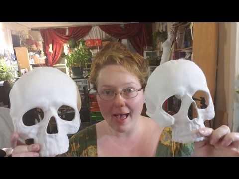 DIY Thermoplastic Skull