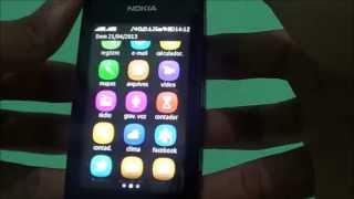 Nokia Asha 305 - Redes Sociais e Apps - Pt BR -