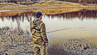 рыбалка с ночёвкой на озере с 12 на 13 апреля