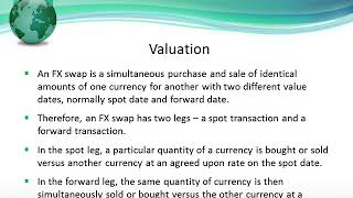 FX Swap Definition and Valuation Guide