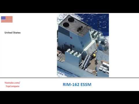 RIM-162 ESSM, guided sea air missiles specs