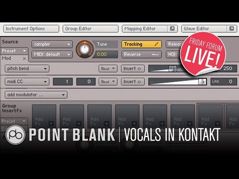 Sound Design in Kontakt: Transforming Vocals (FFL!)