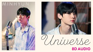 Download MINHYUN - Universe   8D Use Headphones 🎧 (Acoustic Version)