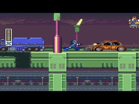 Super wahoo man plays megaman x Legacy Collection  