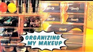 💕 My Makeup Storage: Sorbus Acrylic Organizer| Amazon Makeup Organiser || Sherica Love