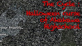 Halloween Horror Of Akakawa Highschool Я сломал игру😂😂😂😂