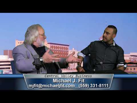 Michael J  Fit, Coach & Motivational Speaker, on Central Valley Business