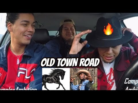 LIL NAS X - OLD TOWN ROAD HORSES IN THE BACK REACTION REVIEW