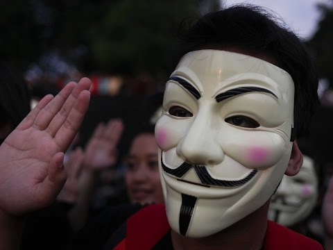 Anonymous - A Million Mask March London Documentary