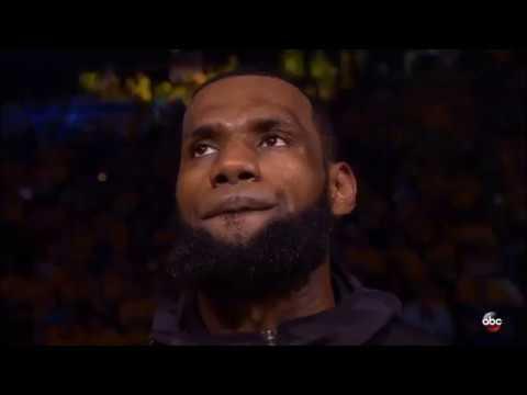 2018 NBA Finals Game 1 Pregrame Intro/Anthem 05/31/18 |
