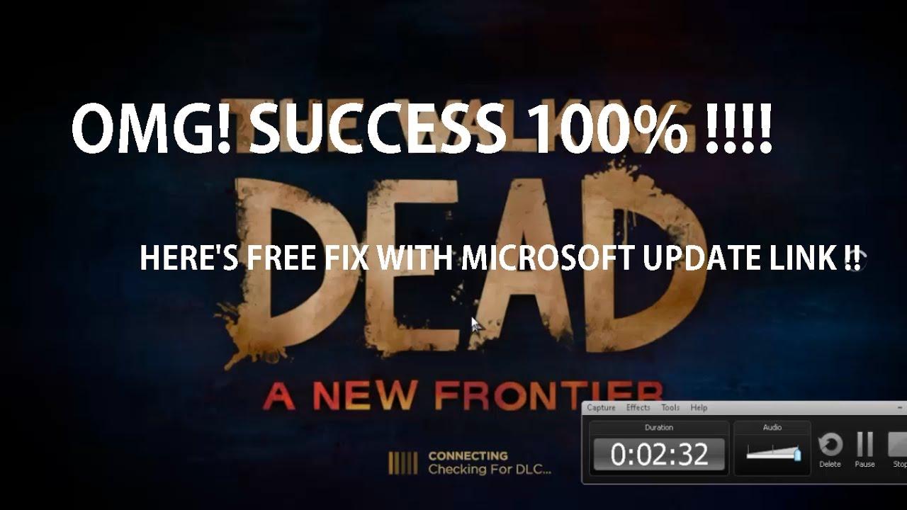 Fixdirectx Error Parameter Is Incorrect On Walking Dead New Frontier 100 Success