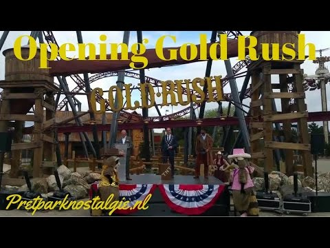 Opening Gold Rush Attractiepark Slagharen 13 april 2017