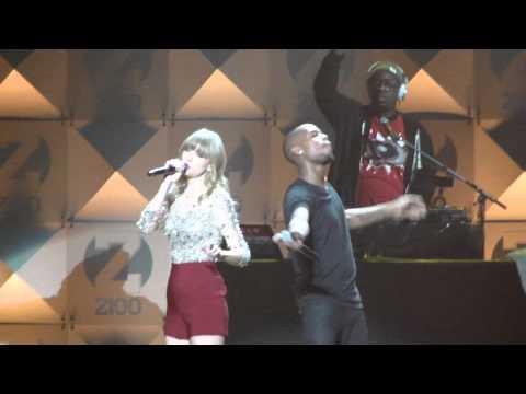 B.O.B ft. Taylor Swift- Both of Us - Z100 Jingle Ball 2012 HD