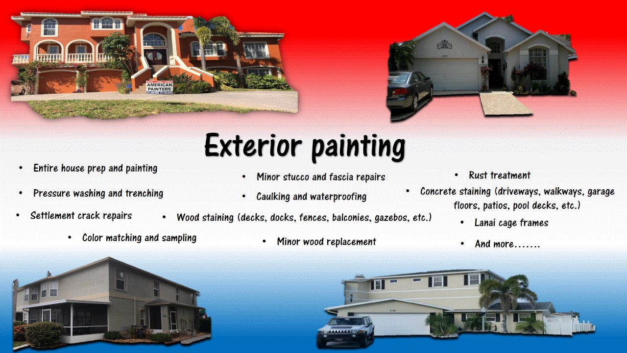 Painting Company Tampa Fl American Painters Inc