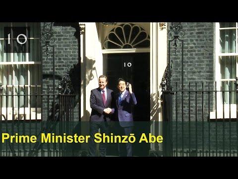 Shinzō Abe, Prime Minister of Japan