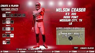 Houston Football: 2019 NSD: Nelson Ceaser