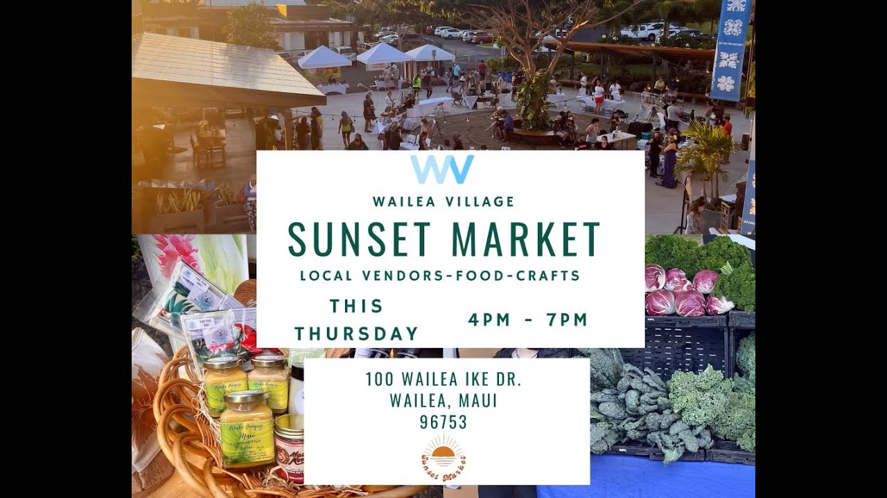 FREE Outdoor Market Tonight!