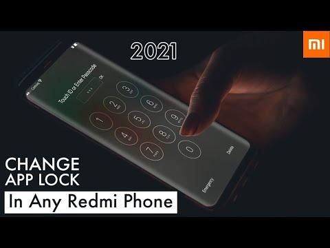 Change App Lock In Any Redmi Phones | 2018 New Tricks For Xiaomi Phones
