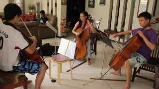 Video Cello Trio- Nearer My God To Thee download MP3, 3GP, MP4, WEBM, AVI, FLV September 2018