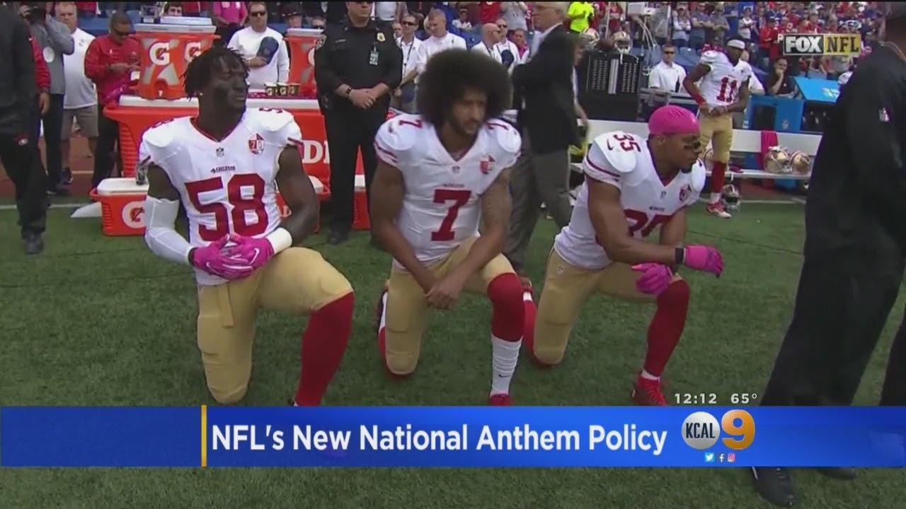NFL Owners: Players On The Field Must Stand For Anthem