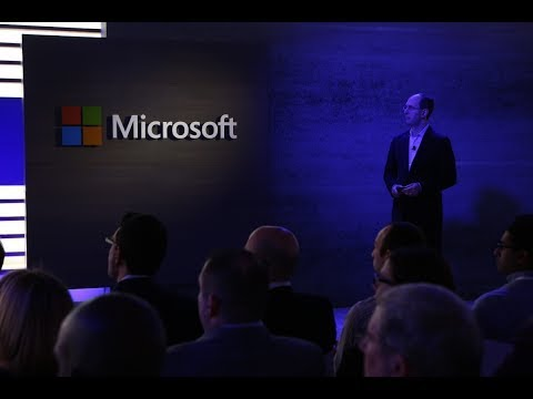 AI First Microsoft Goes All In on Artificial Intelligence Microsoft Build 2017 in 12 Minutes #2017