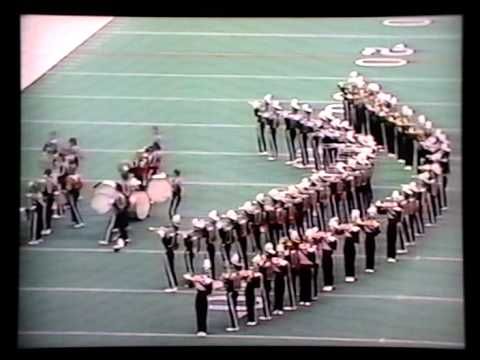 1984 State Game - Permian High School Band - Hawaii 5-0