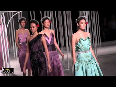 The Queen of Thai Silk at Couture Fashion Week 2012 in Bangkok. Movie by Paul Hutton, Bangkok Scene.