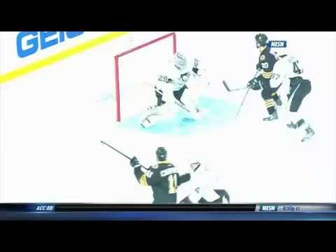 Joe Morrow's 1st NHL goal 11/24/14