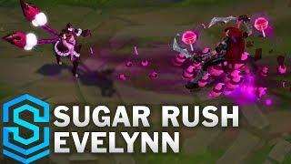 Sugar Rush Evelynn Skin Spotlight - Pre-Release - League of Legends